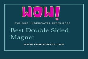 Double sided Magnets for fishing