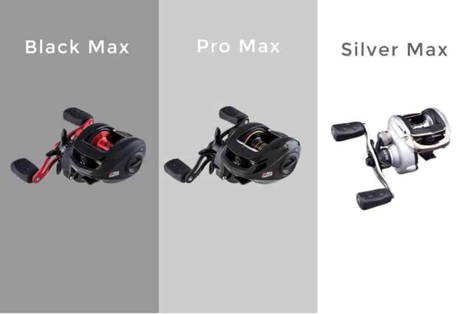 Abu Garcia Black max vs Pro Max vs Silver Max