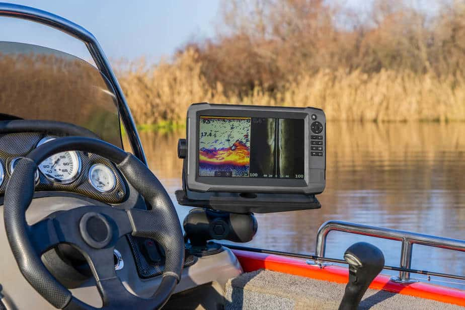 Catfishing with a fish finder